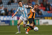 Huddersfield Town midfielder Joe Lolley (18)  during the Sky Bet Championship match between Huddersfield Town and Hull City at the John Smiths Stadium, Huddersfield, England on 9 April 2016. Photo by Simon Davies.