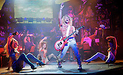 Rock of Ages<br /> by Chris D'Arienzo<br /> directed by Kristin Hanggi<br /> Choreography by Kelly Devine<br /> Press photocall<br /> 14th September 2011 <br /> at The Shaftesbury Theatre, London, Great Britain <br /> <br /> <br /> Shayne Ward (as Stacee Jaxx)<br /> <br /> Photograph by Elliott Franks