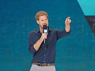 28.09.2017; Toronto, CANADA: PRINCE HARRY <br />
