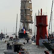 Départ de la grande traversée de l'atlantique en 2008 vers Québec
