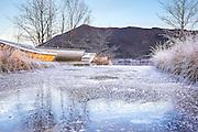 Small boats at winter layup, nearby Snipsøyrvatnet, Norway | Småbåter til vinter opplag, i nærheten av Snipsøyrvatnet, Hareid, Norge.