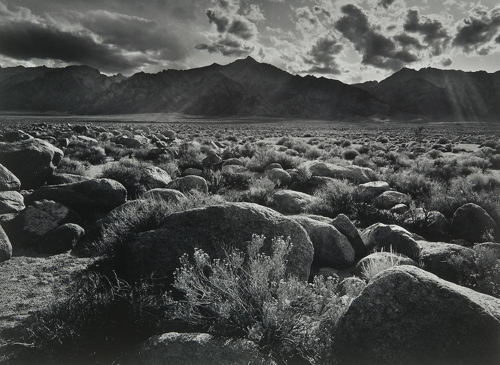Behind Manzanar