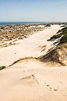 View of Campo Bom Beach from Morro do Careca. Jaguaruna, Santa Catarina, Brazil. / <br /> Balneário Campo Bom visto do Morro do Careca. Jaguaruna, Santa Catarina, Brasil.