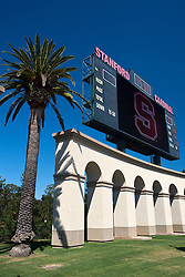 September 4, 2010; Stanford, CA, USA;  General view of Stanford Stadium before the game between the Stanford Cardinal and the Sacramento State Hornets.