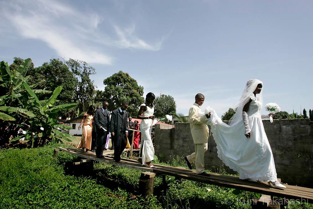 LIberian wedding May 12, 2008.