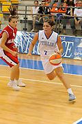 DESCRIZIONE : Ortona Giochi del Mediterraneo 2009 Mediterranean Games Italia Italy Albania Preliminary Women<br /> GIOCATORE : Benedetta Bagnara<br /> SQUADRA : Nazionale Italiana Femminile<br /> EVENTO : Ortona Giochi del Mediterraneo 2009<br /> GARA : Italia Italy Albania<br /> DATA : 28/06/2009<br /> CATEGORIA : penetrazione<br /> SPORT : Pallacanestro<br /> AUTORE : Agenzia Ciamillo-Castoria/G.Ciamillo