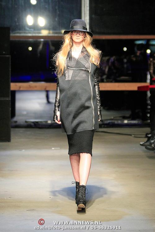 NLD/Amsterdam/20130318 - Modeshow Jan Boelo zomer 2013, Modellen