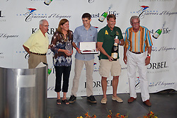 """""""Best in Show Winners"""" - Photograph of the 2011 Tahoe Concours d'Elegance Best in Show award winners."""