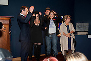 NANCY DELL D'OLIO; TRACEY EMINAMONGST OTHERS IN KNOCKOUT GAME DURING AUCTION  Annual Lighthouse Gala Auction in aid of the Terrence Higgins Trust.  Christie's, King St. London. 21 March 2011. .-DO NOT ARCHIVE-© Copyright Photograph by Dafydd Jones. 248 Clapham Rd. London SW9 0PZ. Tel 0207 820 0771. www.dafjones.com.