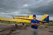 Pilot Hugo Cesar Vergnano räumt ein, dass sich manche Kollegen beim Spritzen der Pestizide nicht an die Vorgaben halten.
