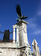 Eagle Statue, Buda Castle District, Budapest
