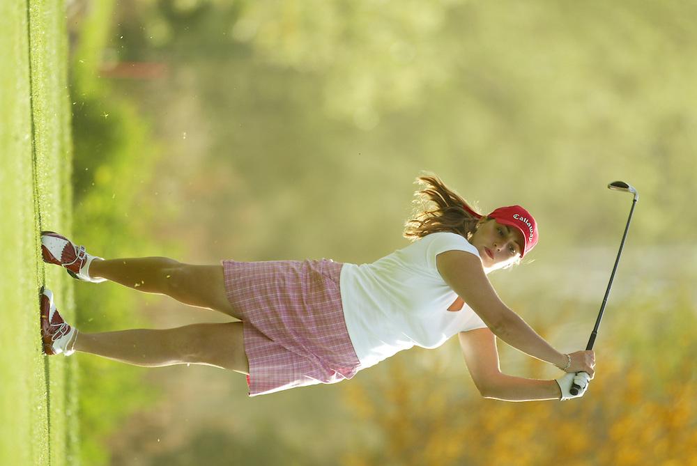 Kelli Kuehne..LPGA Welch's Fry's Championship Round 3..Dell Urich GC at Randolph Park..Tucson, AZ..March 15, 2003..Photograph by Darren Carroll ..X67922, Take 2
