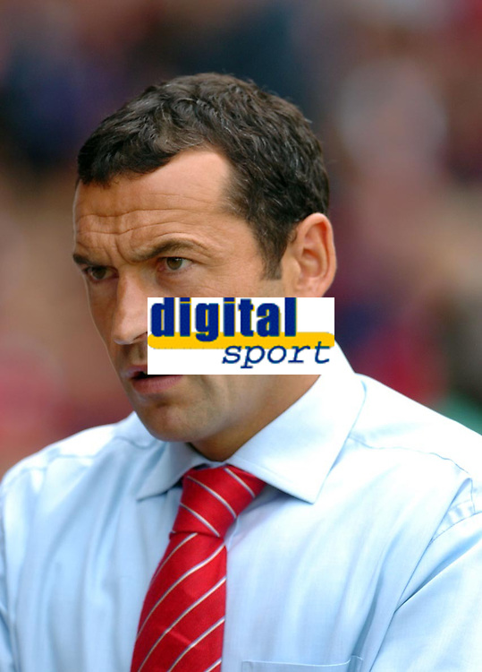 Photo: Leigh Quinnell.<br /> Nottingham Forest v Brighton &amp; Hove Albion. Coca Cola League 1. 19/08/2006. Nottingham Forest manager Colin Calderwood.