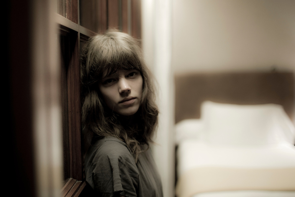 Tuesday,  14/12/2010, Sao Paulo - Brazil: Top model Freja Beha Erichsen as she arrives at her suite in Hotel Fasano, Sao Paulo - Brazil. (photo: Caio Guatelli)