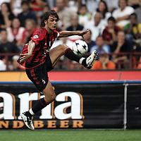 Milano 21/8/2004 Supercoppa Italiana - Italian Supercup Milan Lazio 3-0 Paolo Maldini Milan <br /> <br /> Foto Andrea Staccioli Graffiti