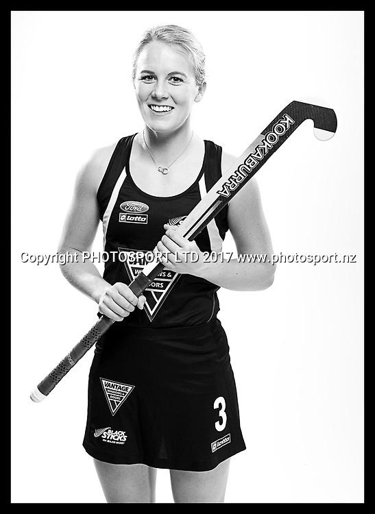 Erin Goad, New Zealand Black Sticks women, national hockey team photoshoot. Photosport Studio, Auckland. August 2017, Copyright Image: Andrew Cornaga / www.photosport.nz