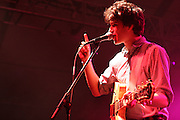 """Vampire Weekend"" performs during the first day of the 2008 Bonnaroo Music & Arts Festival on June 12, 2008 in Manchester, Tennessee. The four-day music festival features a variety of musical acts, arts and comedians..Photo by Bryan Rinnert"