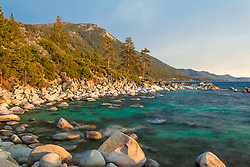 """Boulders at Lake Tahoe 47"" - These boulders were photographed just before sunset near Hidden Beach, Lake Tahoe."
