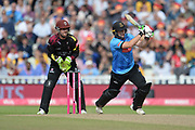 Luke Wright of Sussex batting during the Vitality T20 Finals Day semi final 2018 match between Sussex Sharks and Somerset County Cricket Club at Edgbaston, Birmingham, United Kingdom on 15 September 2018.