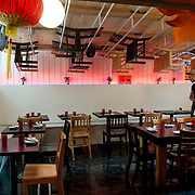 Chef Danny Bowien's restaurant, Mission Chinese, is photographed at its New York City location on the Lower East Side of Manhattan on Tuesday, July 31, 2012 in New York, NY. .