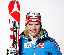 20.10.2012, Messehalle, Innsbruck, AUT, OeSV, Ski Alpin, Fototermin, im Bild Marlies Schild (OeSV, Skirennlaeuferin) // during the official Portrait and Teamshooting of the Austrian Ski Federation (OeSV) at the Messehalle, Innsbruck, Austria on 2012/10/20. EXPA Pictures © 2012, PhotoCredit: EXPA/ OeSV/ Erich Spiess