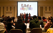 Athens community members and OU students and staff filled the new Baker Ballroom for a sold out Arabic Culture Night.