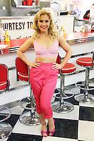 Heidi Range; Pinkie, Happy Days: A New Musical - photocall, Ed's Easy Diner, London UK, 08 January 2014, Photo by Richard Goldschmidt