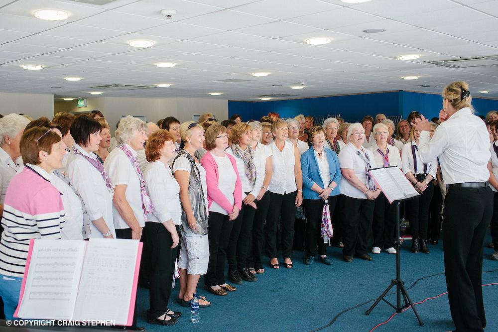 Royal Highland Show 2014. YFC wifes choir. PAYMENT TO CRAIG STEPHEN 07905 483532