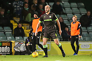 Forest Green Rovers Farrend Rawson(6) on the ball during the EFL Sky Bet League 2 match between Yeovil Town and Forest Green Rovers at Huish Park, Yeovil, England on 8 December 2018.