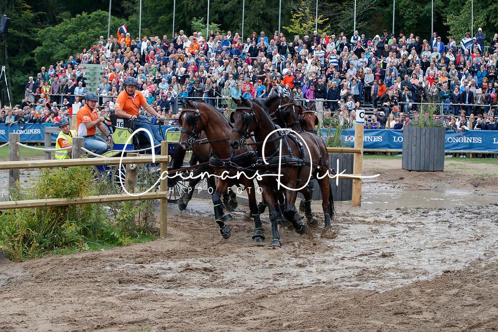 Timmerman Theo, NED, Balero, Boy, Dakota, Esprit, Mister<br /> FEI European Driving Championships - Goteborg 2017 <br /> &copy; Hippo Foto - Dirk Caremans<br /> 26/08/2017,