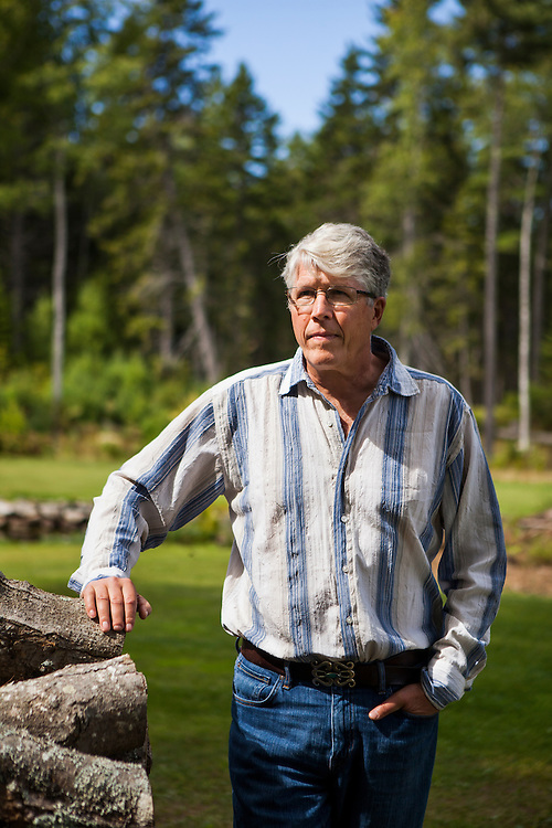 Douglas Preston, bestselling author and outspoken opponent of Amazon.com's business practices, at his home in Round Pond, Maine on Tuesday, Sept 9, 2014.<br /> <br /> Photo Copyright: CRAIG DILGER