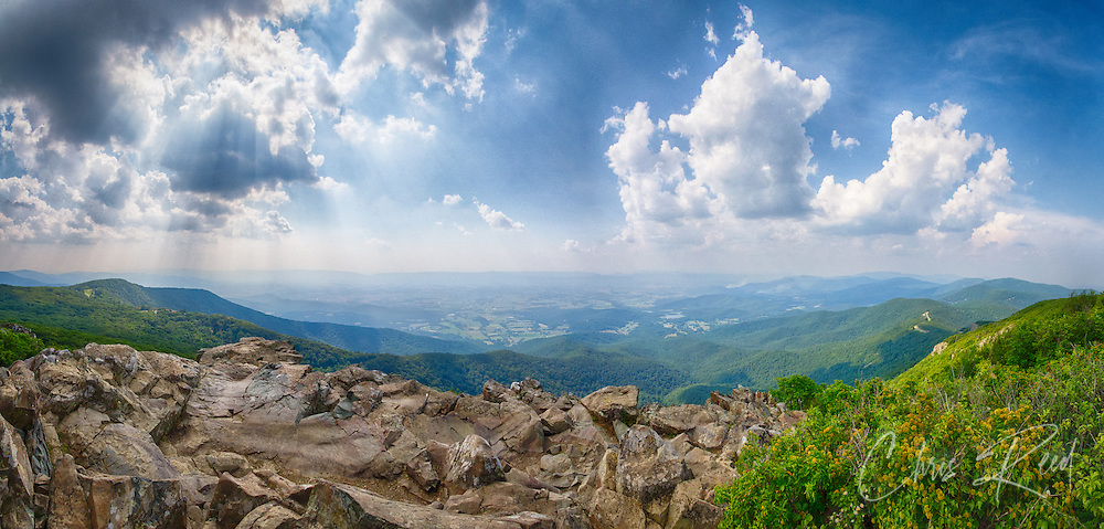USA, Virginia, Shenandoah National Part. Stony Man Summit.