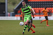 Forest Green Rovers Haydn Hollis during the EFL Sky Bet League 2 match between Barnet and Forest Green Rovers at The Hive Stadium, London, England on 7 April 2018. Picture by Shane Healey.
