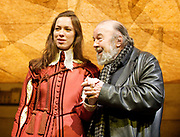 Sir Peter Reginald Frederick Hall CBE (22 November 1930 &ndash; 11 September 2017) was an eminent English theatre, opera and film director.<br /> Twelfth Night <br /> or<br /> What You Will <br /> by<br /> William Shakespeare<br /> at The Cottesloe Theatre,<br /> London, Great Britain <br /> press photocall<br /> 17th January 2011<br /> <br /> <br /> <br /> Rebecca Hall (as Viola)<br /> <br /> <br /> Sir Peter Hall<br /> director<br /> <br /> <br /> <br /> <br /> <br /> Photograph by Elliott Franks<br /> <br /> 2011&copy;Elliott Franks