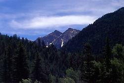 Colorado Rocky Mountains Note: This image was originally produced on film and scanned to produce a digital file.  Some dust may be visible from that scan