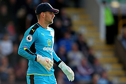Thomas Heaton of Burnley wears a cap - Mandatory by-line: Matt McNulty/JMP - 02/10/2016 - FOOTBALL - Turf Moor - Burnley, England - Burnley v Arsenal - Premier League