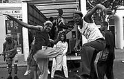 Notting Hill Carnival DJ's, 1991.