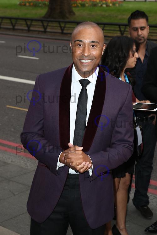 Colin Jackson, The Asian Awards, Grosvenor House Hotel, London UK, 17 April 2015, Photo by Richard Goldschmidt
