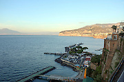 Bay of Naples as seen from Sorrento, Italy