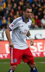 Football: Germany, 1. Bundesliga<br /> Pierre-Michel Lasogga (Hamburger SV, HSV)