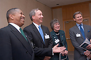 17601Scripps Howard Foundation Announcement of 15 million dollar gift to the College of Communication at the Westin in Cincinnati 4/4/06..Dr. Gregory J. Shepherd, Dean of the College of Communication.Dr. Roderick J. McDavis, president of Ohio University.Mr. Kenneth W. Lowe, president and CEO of The E.W. Scripps Company.Ms. Judith G. Clabes, president & CEO of the Scripps Howard Foundation.Dr. Kathy Krendl, provost of Ohio University.Mr. Alan Horton, Chairman of the board of the Scripps Howard Foundation and retired senior vice president/newspapers of The E.W. Scripps Company