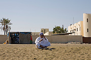 Sohar, Sultanate of Oman. January 31th 2009..The beach of Sohar.