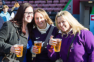 England Women fans before the Women's RBS 6 Nations match between England Women and Italy Women at Twickenham Stoop , London<br /> Picture by David Horn/Focus Images Ltd +44 7545 970036<br /> 15/02/2015