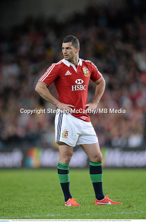 15 June 2013; Rob Kearney, British & Irish Lions. British & Irish Lions Tour 2013, NSW Waratahs v British & Irish Lions, Allianz Stadium, Sydney, NSW, Australia. Picture credit: Stephen McCarthy / SPORTSFILE