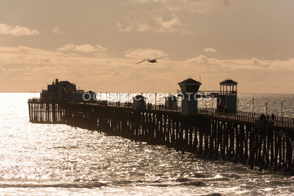 Sunset Over The Oceanside Pier