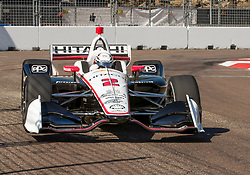 March 9, 2019 - St. Petersburg, FL, U.S. - ST. PETERSBURG, FL - MARCH 09: during the NTT IndyCar Series - Firestone Grand Prix Qualifying on March 9 in St. Petersburg, FL. (Photo by Andrew Bershaw/Icon Sportswire) (Credit Image: © Andrew Bershaw/Icon SMI via ZUMA Press)
