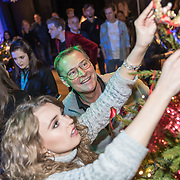 NLD/Amsterdam/20191206 - Sky Radio's Christmas Tree For Charity 2019, Tessa Sunniva van Tol en Albert Verlinde