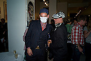 DR. NOKI; JUDY BLAME, Macmillan De'Longhi Art Auction in aid of Macmillan Cancer Support. Avenue. St. James's. London. 23 September 2008. *** Local Caption *** -DO NOT ARCHIVE-© Copyright Photograph by Dafydd Jones. 248 Clapham Rd. London SW9 0PZ. Tel 0207 820 0771. www.dafjones.com.