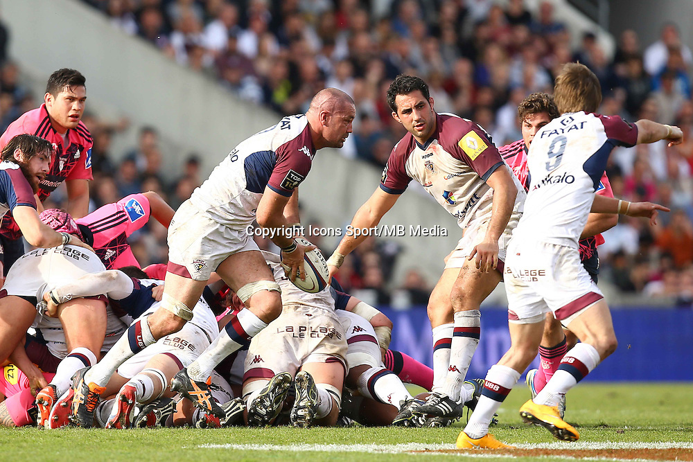 Matthew Clarkin  - 07.03.2015 -  Begles Bordeaux / Stade Francais -  19eme journee de Top 14<br />