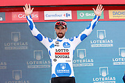 Thomas De Gendt (BEL - Lotto Soudal) during the 73th Edition of the 2018 Tour of Spain, Vuelta Espana 2018, 19th stage Lleida - Andorra 154,4 km on September 14, 2018 in Spain - Photo Luca Bettini / BettiniPhoto / ProSportsImages / DPPI